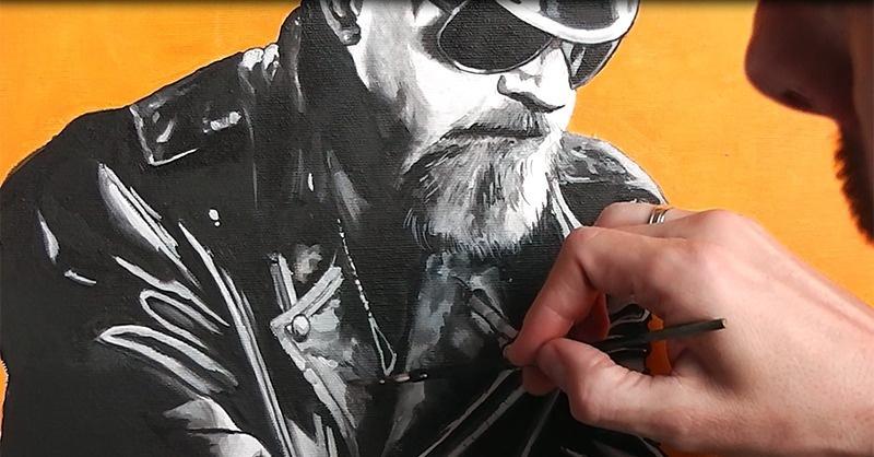 Megfestettem Rob Halfordot