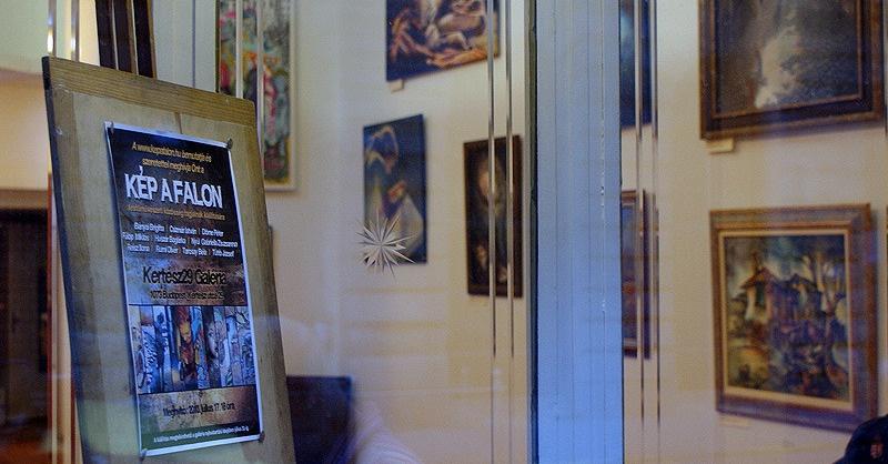 KÉP A FALON: az első közös kiállítás